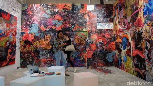 Karya Kemal Ezedine di Art Stage Jakarta 2017