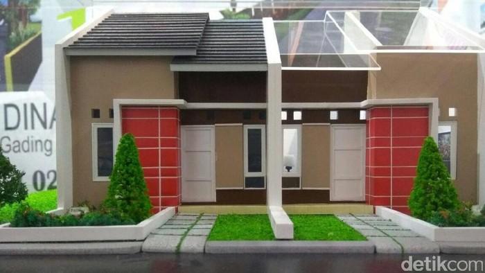 Dalam pameran perumahan Indonesia Property Expo (IPEX) 2017 dipamerkan maket rumah untuk masyarakat berpenghasilan rendah (MBR). Begini bentuknya.