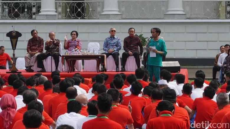Foto: Jokowi Wanti-wanti Konser Musisi Luar Negeri, Kenapa?