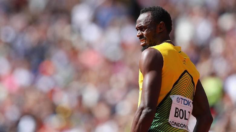 Garis Finis Pilu Usain Bolt