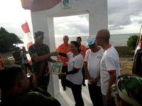 Saat 1.000 Bendera Merah Putih Berkibar di Perbatasan RI-Timor Leste