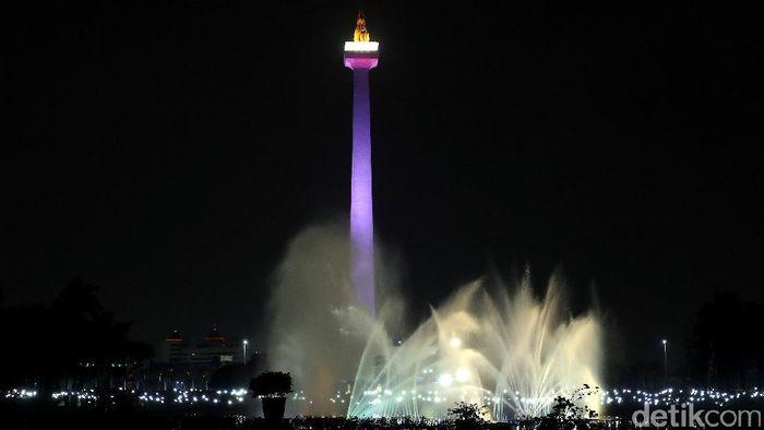 Monumen Nasional (ilustrasi) akan menjadi tempat seremoni countdown Asian Games 2018. (Rengga Sancaya/detikSport)