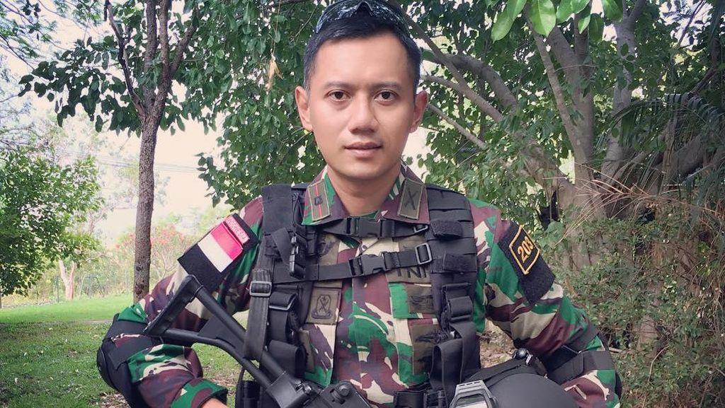 Disebut Kembaran AHY, Anggota TNI Ini Jadi Viral