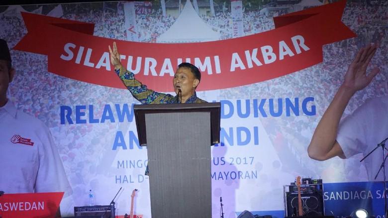 Di Reuni Relawan, Mardani Doakan Anies Jadi Bosnya Mendikbud