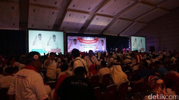 Anies-Sandi gelar silaturahmi akbar bersama para relawan