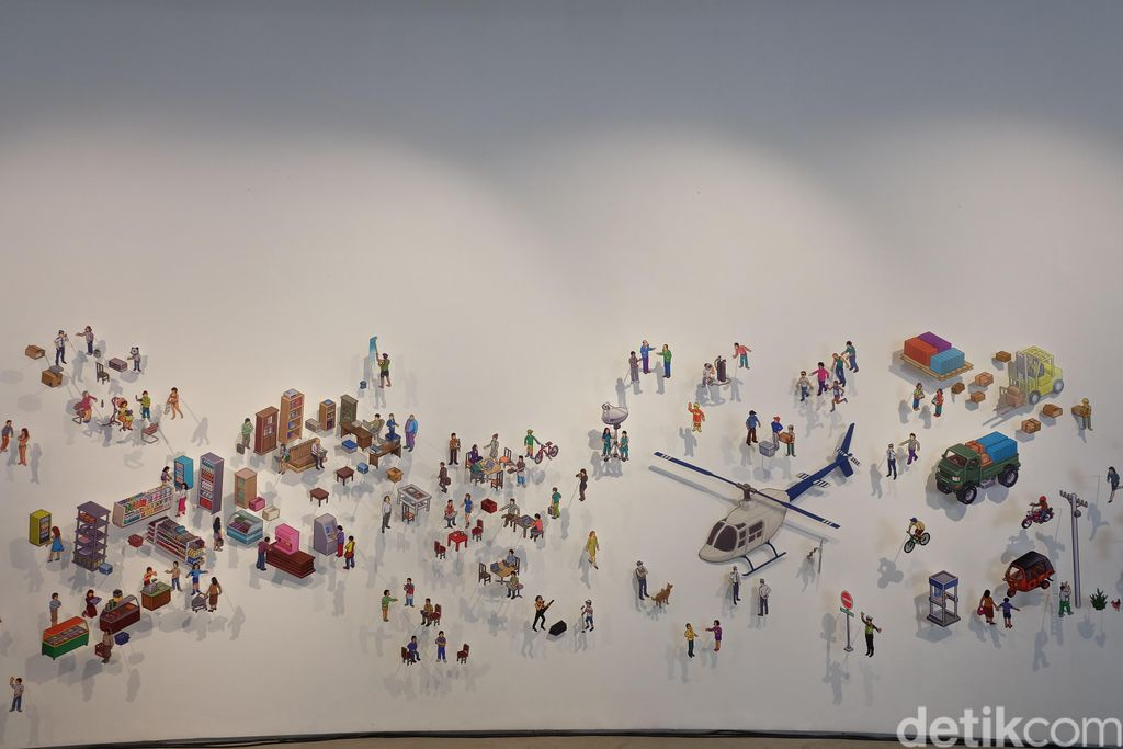 Animamix Biennale 2017 seri Jakarta hadir pertama kalinya di Art1: New Museum, Jakarta Pusat.