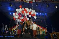 Ribuan Orang Bikin Heboh Penutupan Sanur Village Festival