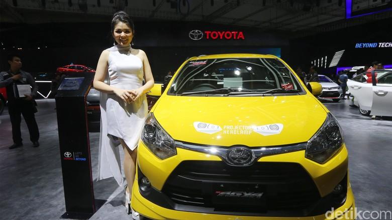 Toyota Agya, LCGC termahal kedua setelah Brio Satya. Foto: Ari Saputra