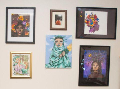 Karya Siswi di AS Picu Perdebatan karena Gambar Patung Liberty Berhijab