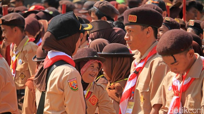 Ilustrasi Hari Pramuka. (Foto: Wisma Putra)