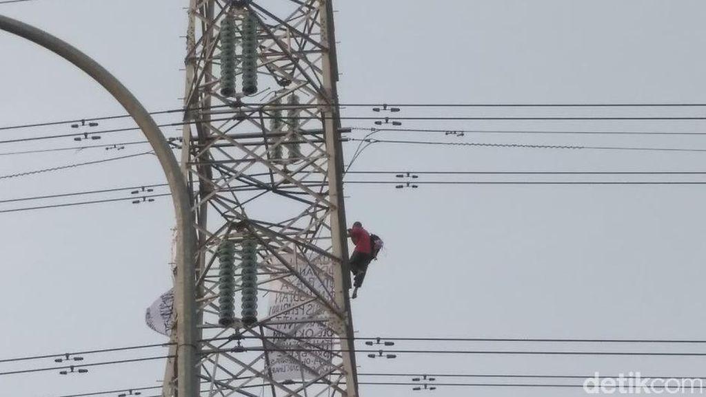 Ada Orang Panjat Menara SUTET di Priok, PLN: Mau Uji Nyali?