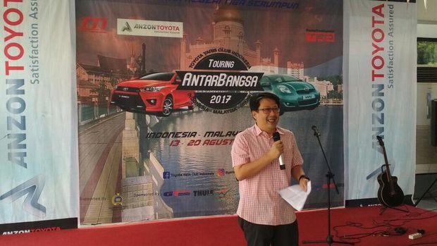TYCI Gelar Touring Jelajah Indonesia, Malaysia dan Brunei