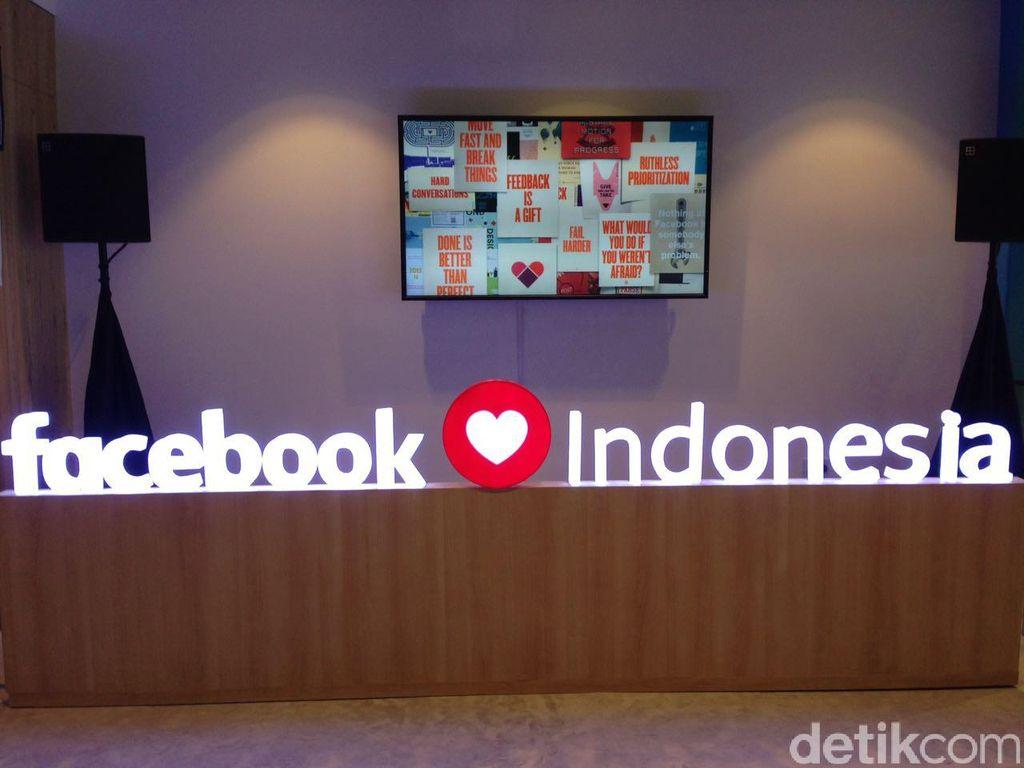 detikINET sempat berkunjung ke kantor Facebook di Jakarta. Foto: detikINET/Agus Tri Haryanto