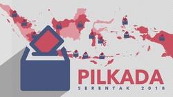 Ini 17 Provinsi yang Gelar Pilkada Serentak 2018