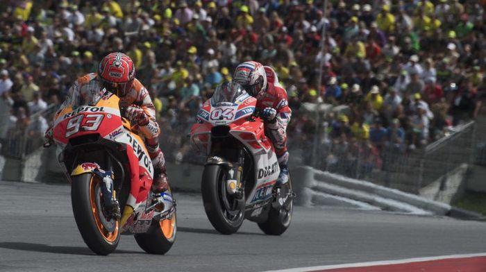 Ducati tertinggal jauh dari Marc Marquez di paruh pertama musim 2019. (Foto: Mirco Lazzari gp/Getty Images)