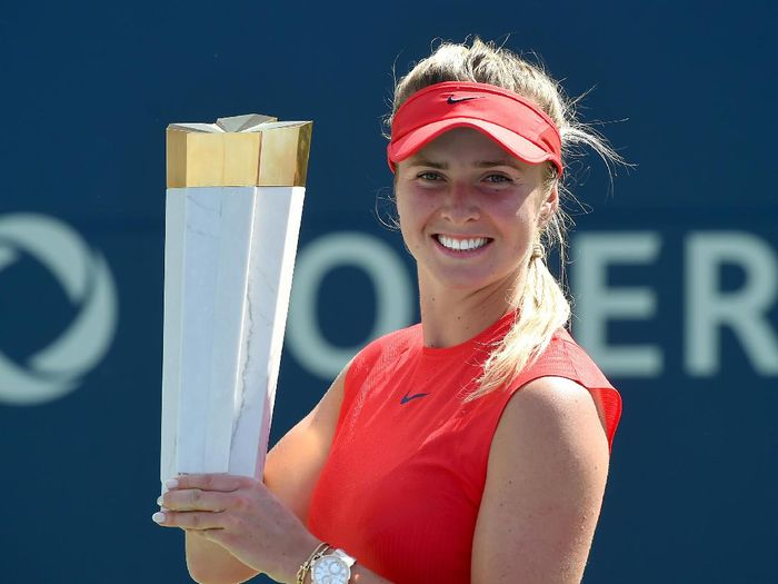 Elina Svitolina menjuarai Rogers Cup 2017. Foto: USA TODAY Sport / Dan Hamilton