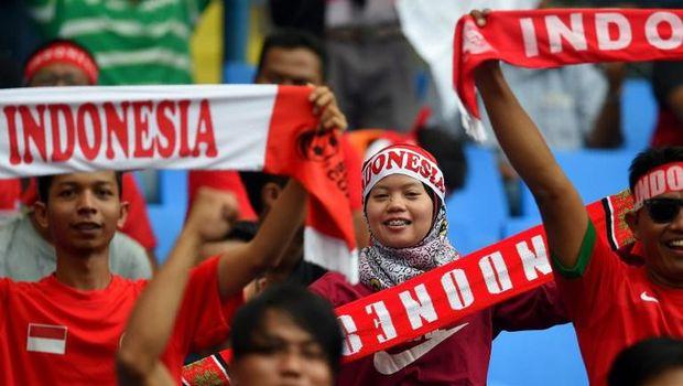 Indonesia Menang 3-0, #TimnasDay Menggema di HUT #RI72