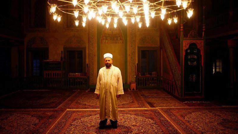 Mufti Husein Kavazovic, kepala komunitas Islam di Bosnia, mengatakan bahwa orang-orang beriman tidak dapat mencapai perdamaian begitu saja dengan mudah (Dado Ruvic/Reuters)