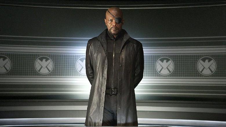 Nick Fury Hidup Lagi untuk Captain Marvel dan Spider-Man 2