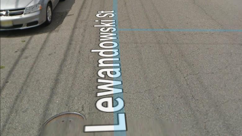 Foto: Lewandowski Street di New Jersey (Google Street View)