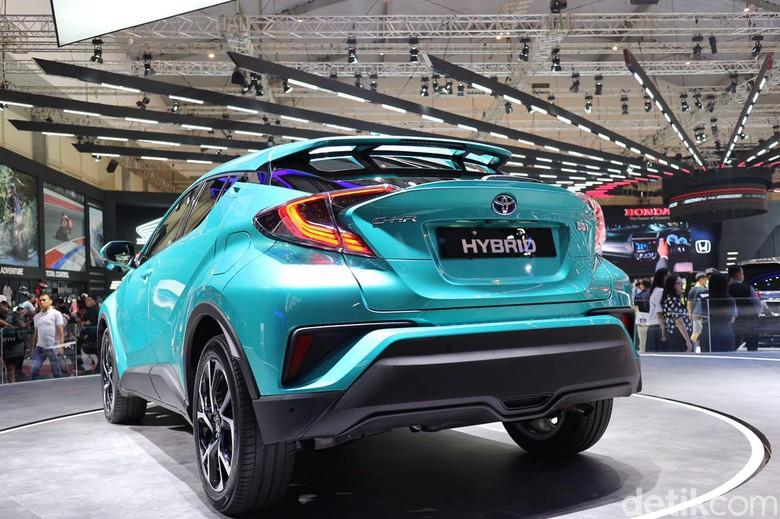 C-HR Hybrid yang meluncur hari ini. Foto: Dina Rayanti