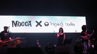 Hasilnya begitu memuaskan, Payung Teduh bahkan merilis sebuah single 'Menunggu untuk Bertemu'. Foto: Asep Syaifullah/detikHOT