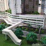 1.200 Rusun Nempel Stasiun Tanjung Barat Akan Rampung di 2021