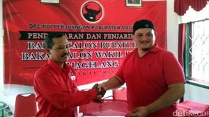 Aktor Kawakan Clift Sangra Daftar Cawabup Magelang di PDIP