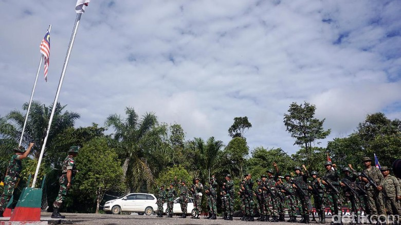 TNI AD dan Tentara Diraja Malaysia Siap Cegah Penyelundupan di Perbatasan