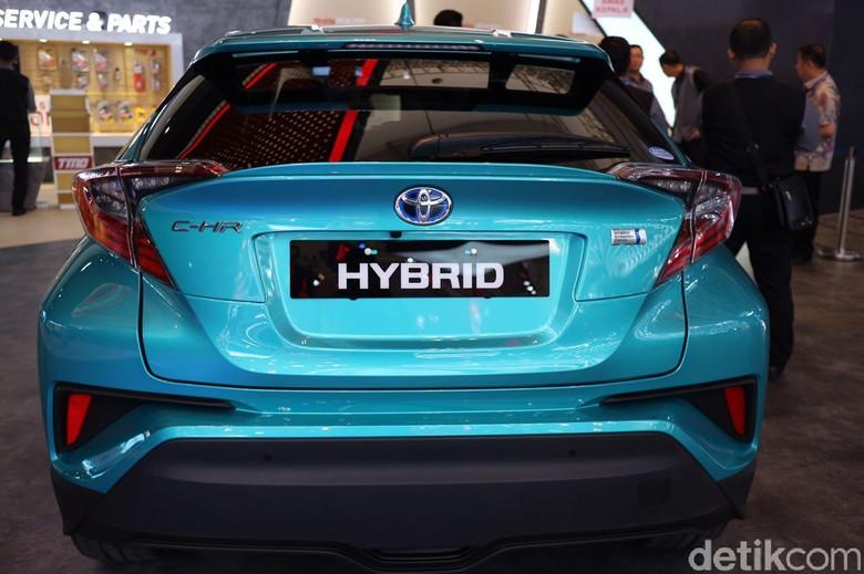 C-HR Hybrid. Foto: Dina Rayanti