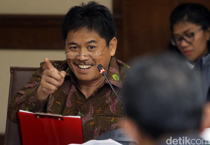 Terdakwa korupsi proyek jalan di Maluku dan Maluku Utara Musa Zainuddin menjalani sidang lanjutan di Pengadilan Tipikor, Jakarta, Rabu (16/8/2017).