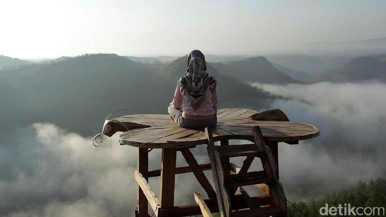 Bukit Panguk di Bantul, Yogyakarta (Randy/detikTravel)