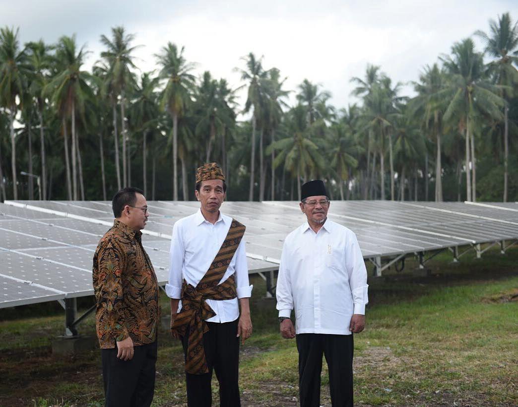 Jokowi di Morotai