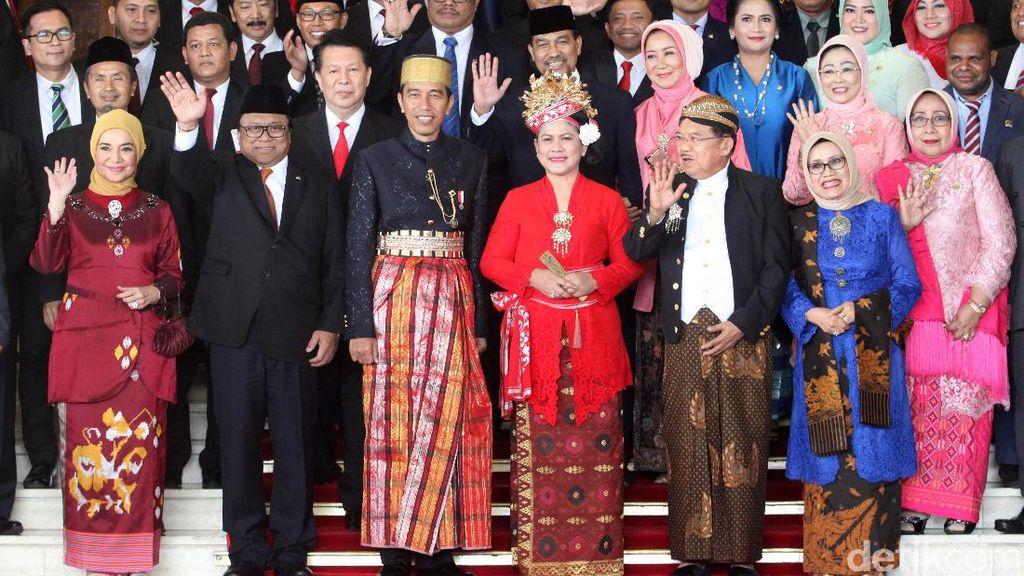 Intip Gaya Busana Pejabat Hadiri Sidang Tahunan MPR-DPR