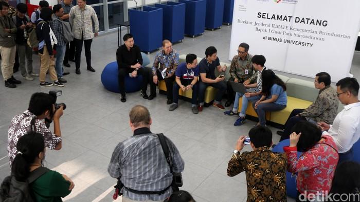 Pusat Inovasi Apple di Kampus Binus (Ari Saputra/detikINET)