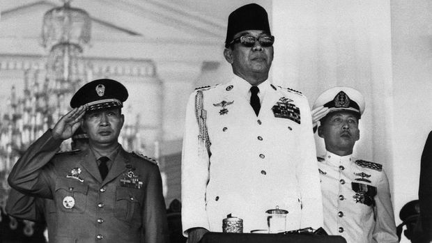 Presiden pertama RI Sukarno memerintahkan tindakan tegas terhadap DI/TII.