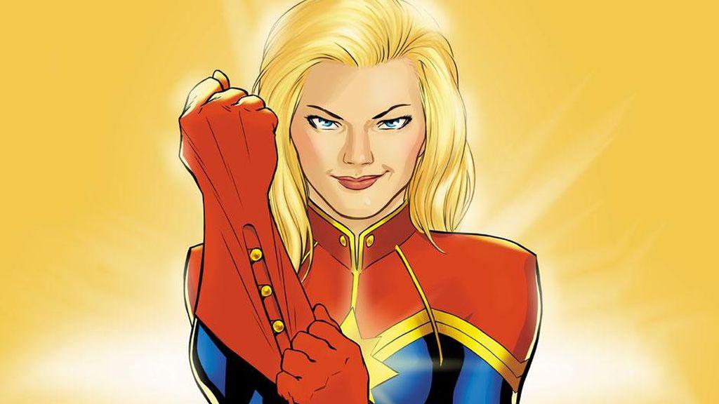 Komik Captain Marvel Sederhanakan Asal-usul Carol Danvers