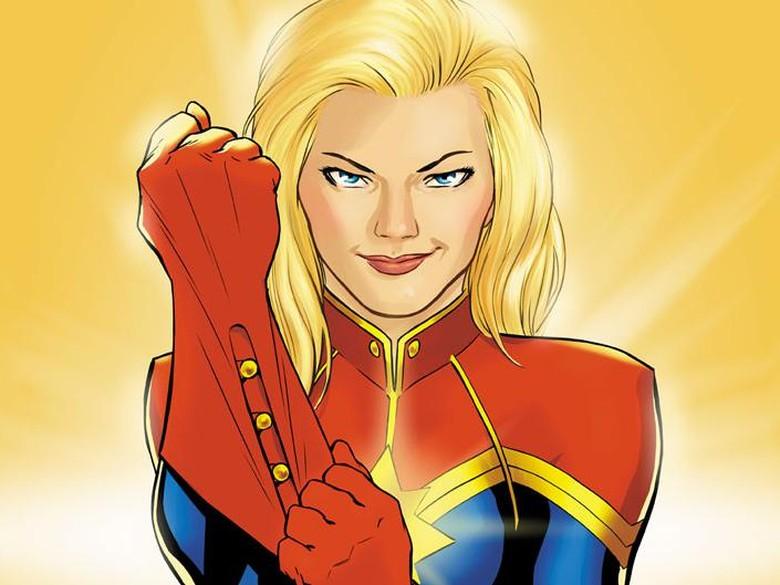 Marvel Comics Perkenalkan Gamma Flight yang Dipimpin Captain Marvel