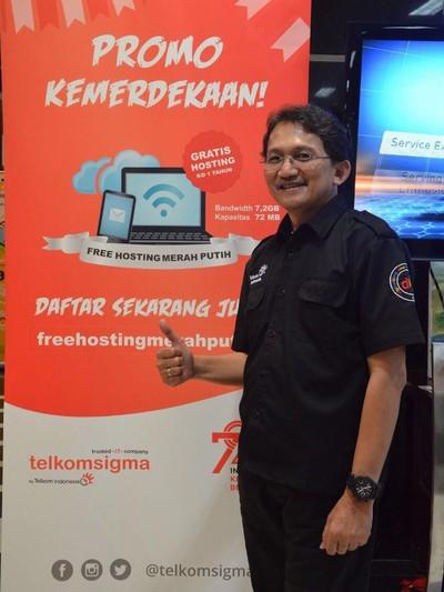 Direktur Solution Operation Telkomsigma Achmad Sugiarto