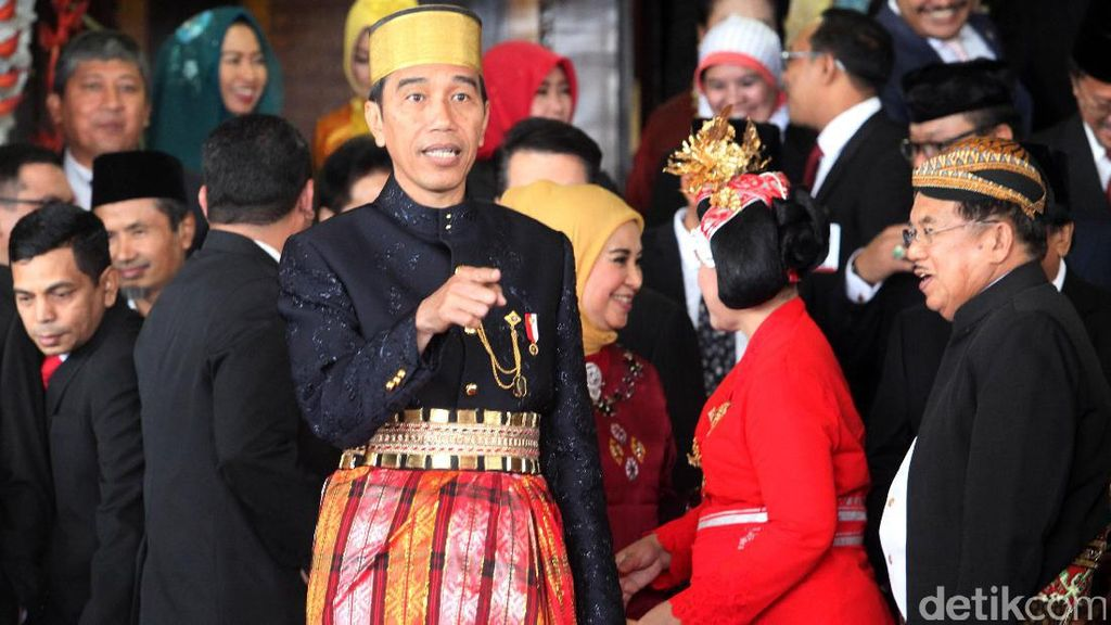 Makna di Balik Jokowi Berbaju Adat Saat Sidang Tahunan MPR