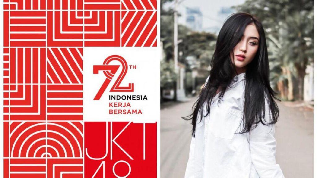 Seru-seruan Sambut HUT RI ke-72 ala JKT48 di Twitter
