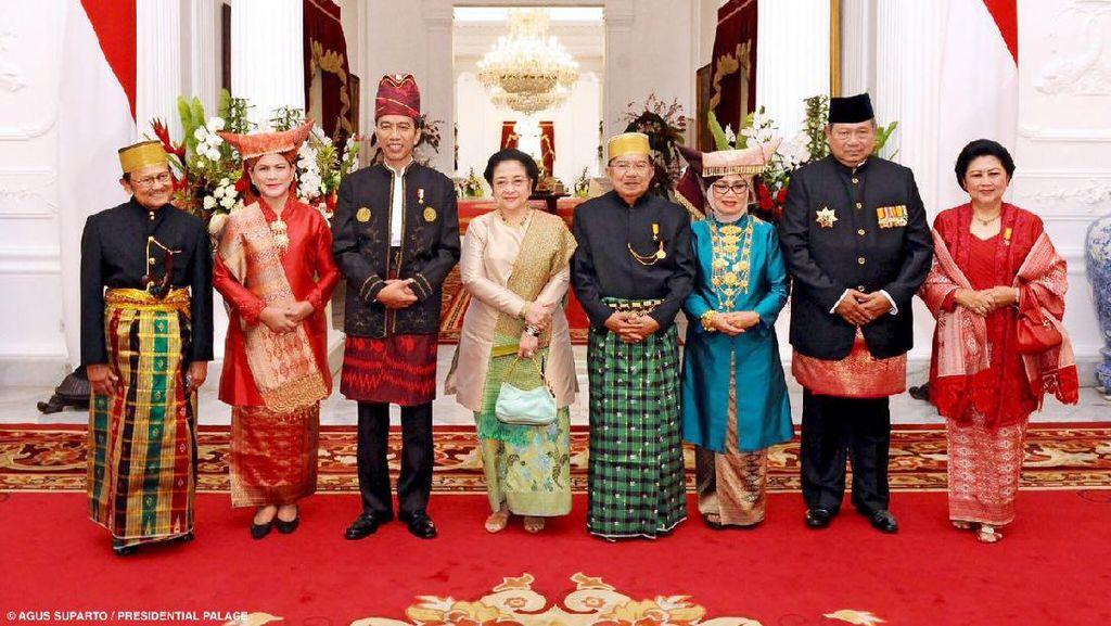 SBY Hingga Megawati Kumpul di Istana, Darmin: Itu Namanya Lebih Damai