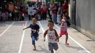 Foto : Cerianya Anak-anak Ikuti Lomba di HUT RI