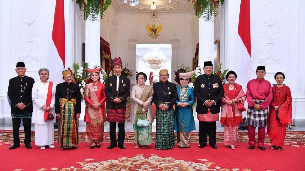 SBY Hingga Megawati Rayakan Bareng HUT RI ke-72, Sri Mulyani: Adem