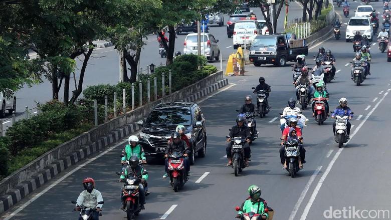 Motor dan Angkot Wajib Masuk Jalur Lambat di Jalan Margonda Depok