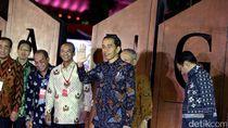 Resmikan Simpang Susun Semanggi, Jokowi Apresiasi Kerja Ahok Djarot