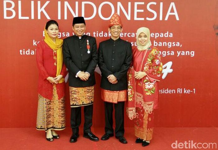 Memperingati Hari Ulang Tahun Republik Indonesia (HUT RI) Ke-72 Kementerian Energi dan Sumber Daya Mineral (ESDM) menyelenggarakan upacara bendera pagi ini di halaman Kantor Kementerian ESDM Jakarta. Citra Fitri Mardiana/detikcom.