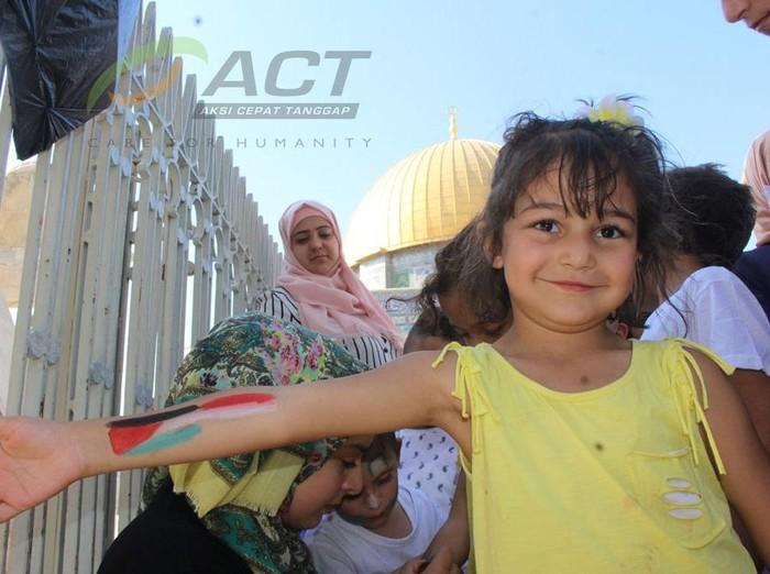 Senyum dan Doa Anak-anak Palestina di Hari Kemerdekaan ...