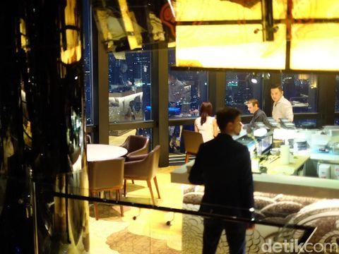Suasana Henshin di The Westin Jakarta.