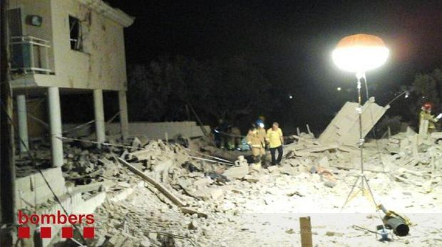 Rumah di Alcanar, Spanyol yang dilanda ledakan